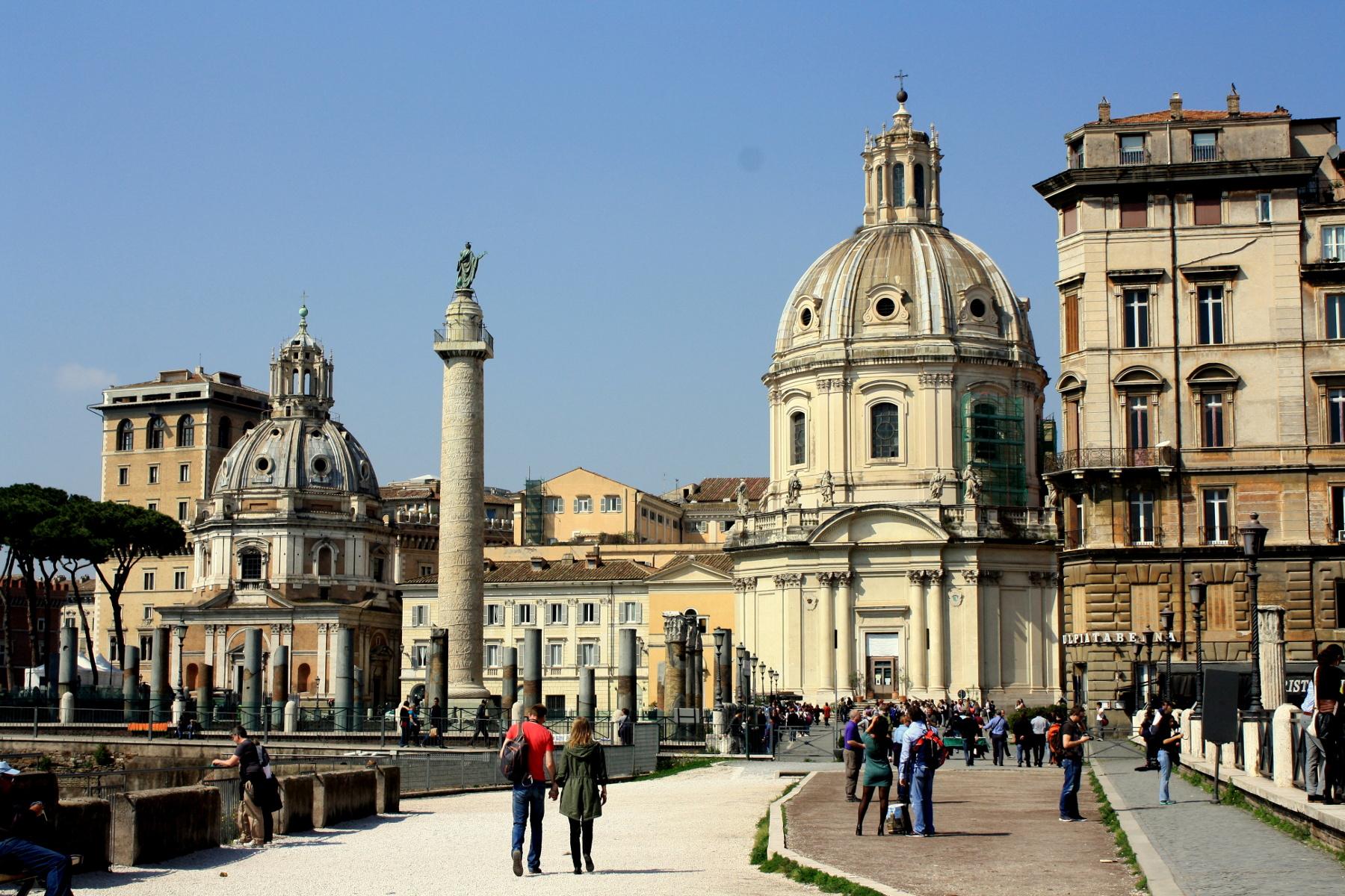 Comment je suis partie à Rome