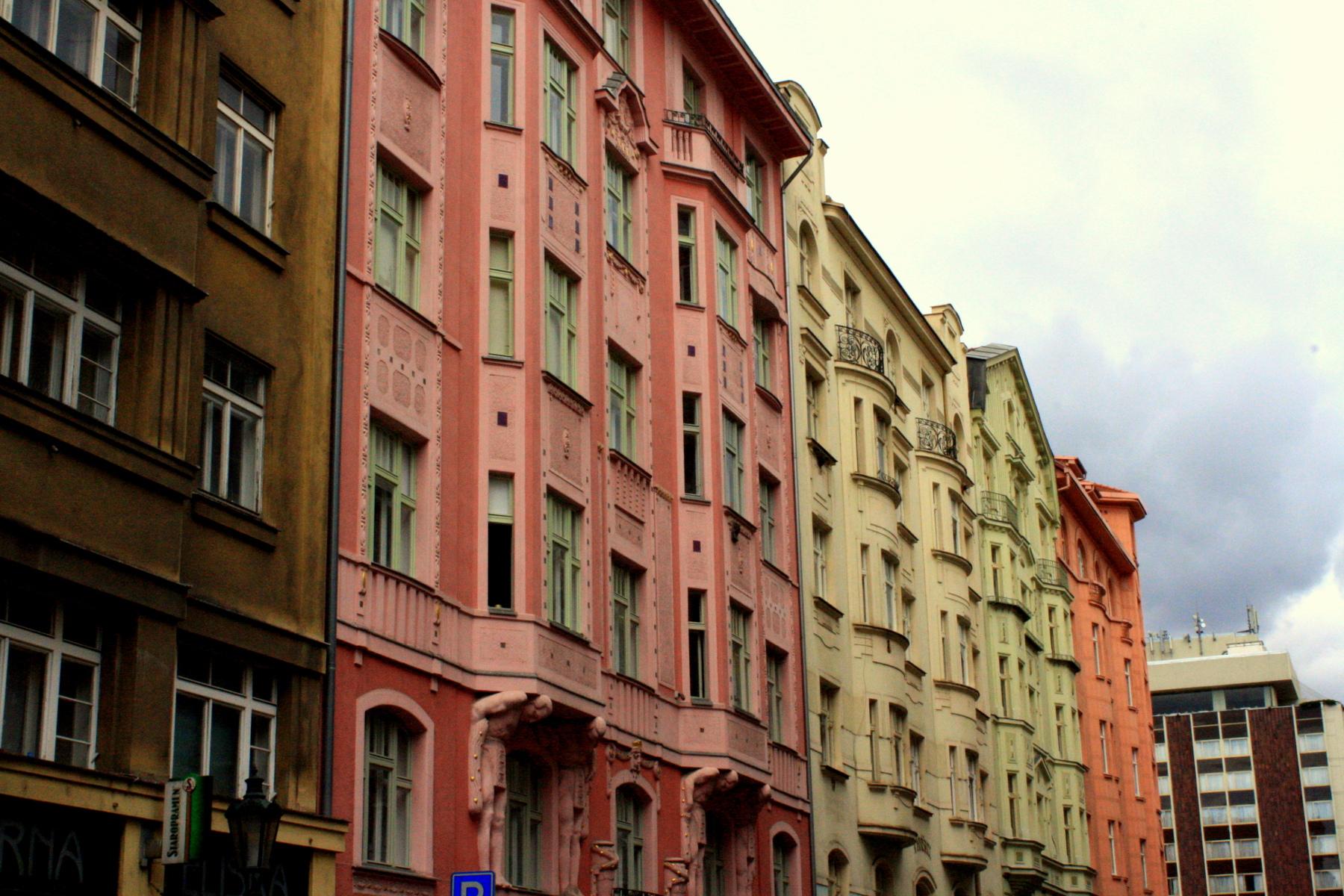 Prague en été