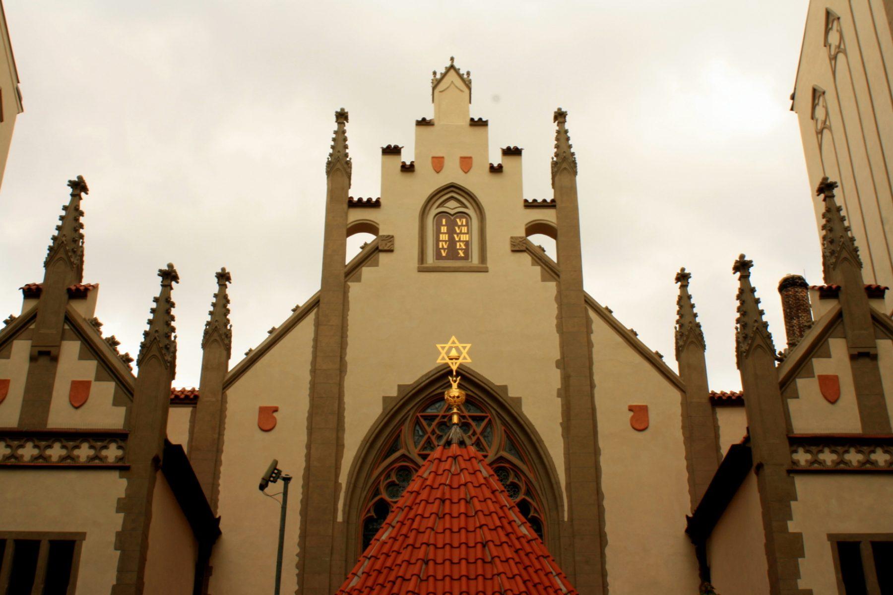 Synagogue Espagnole dans la Vieille Ville de Prague