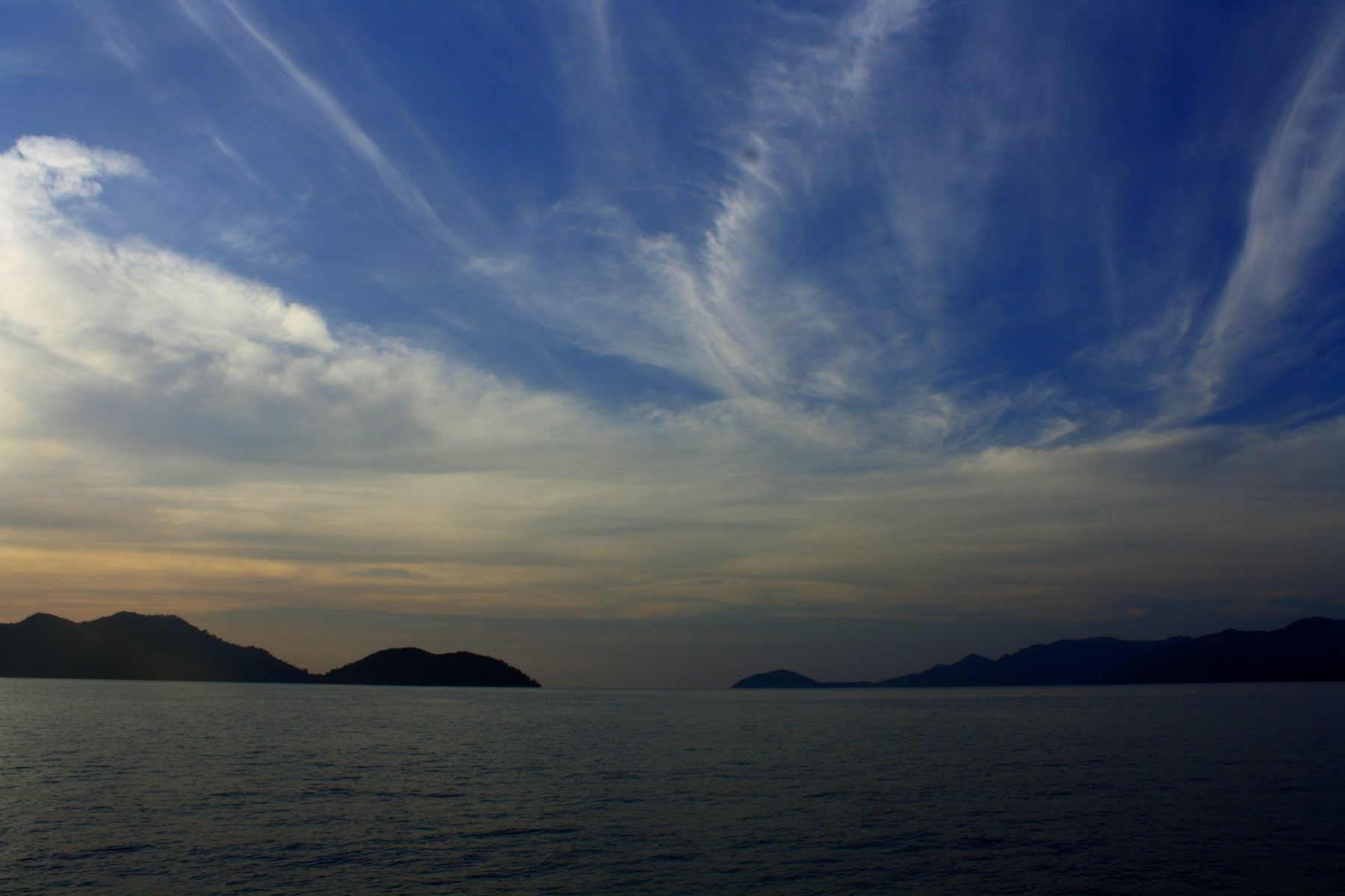 coucher de soleil thaïlande
