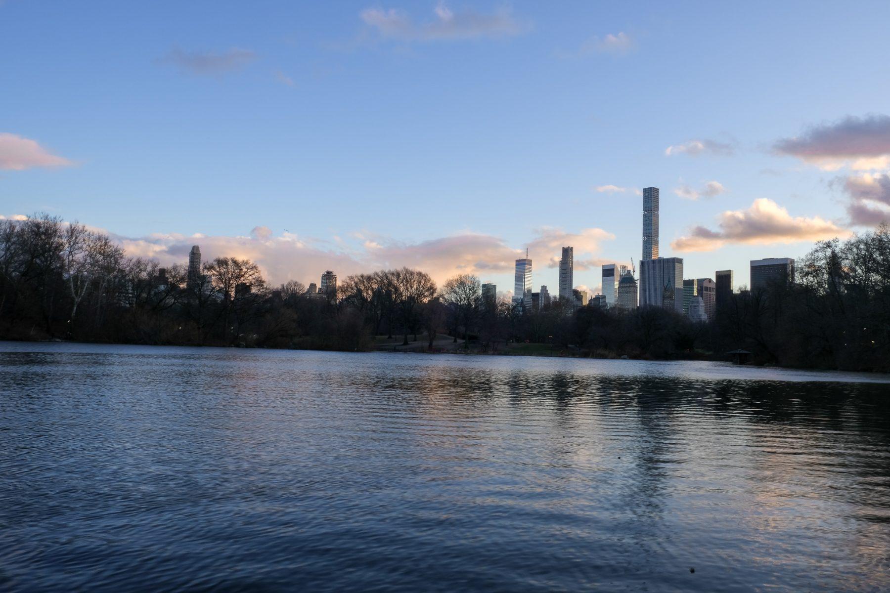 Coucher de soleil Central Park
